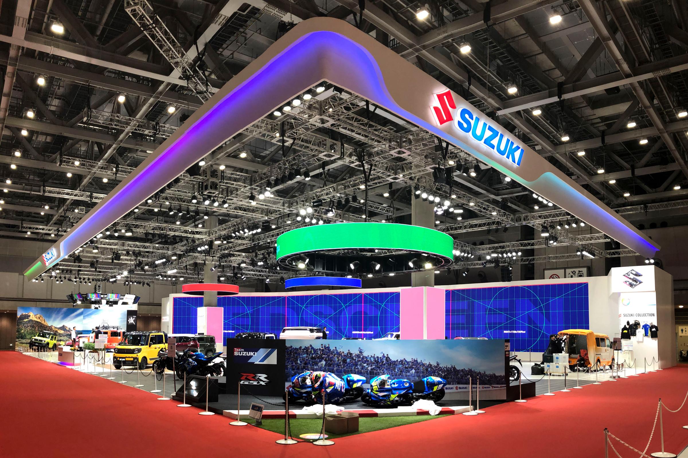 第46回東京モーターショー2019 SUZUKIブース